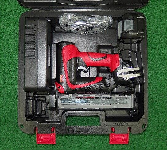 マックス TJ-35FN1-BC/50A 18V充電式フィニッシュネイラ 本体・充電器・5.0Ah電池パック・ケースセット 新品 仕上釘打機