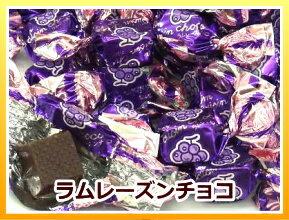 【3,000円(税別)で送料100円(税別)5/8〜】ラムレーズン チョコレート (国産) 大袋 500g【RCP】