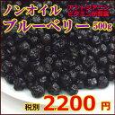 北米産ワイルドブルーベリー100%使用 ノンオイル ブルーベリー(無油) 500g 【RCP】