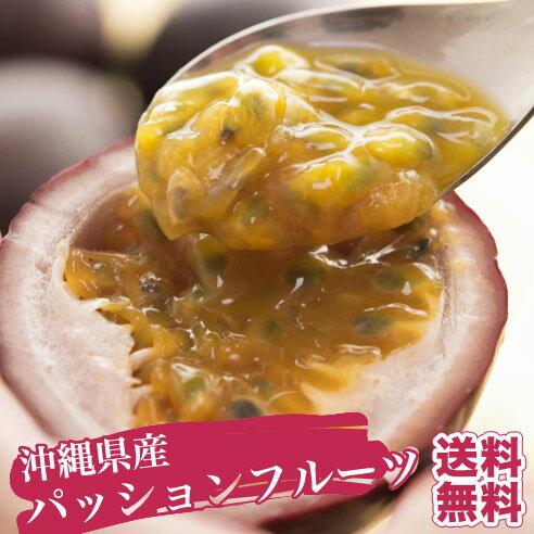パッションフルーツ 1kg(9玉〜11玉) 送料無料![最盛期]本場沖縄の旬のフルーツの味を、気軽に楽しんで下さい♪パイナップルやマンゴーと並ぶ人気を誇るパッションフフルーツ♪ 今シーズンもいよいよ販売開始!|果物 |