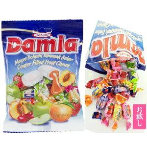 送料無料 メール便 ダムラ ソフトキャンディ(キャンディー)4袋セット輸入品で大人気 お土産(土産)など最適!沖縄からお届け(通販)外国産(トルコ)のお菓子(駄菓子)おやつ |飴