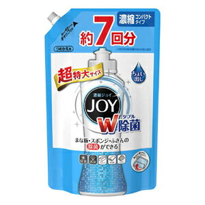 P&G 除菌ジョイ コンパクト つめかえ用 超特大1065ml (食器用洗剤)