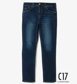 【C17】大きいサイズ ストレート【30-38インチ】 C-17 シーセブンティーン デニムジーンズ
