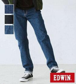 【エドウィン公式】インターナショナルベーシック 407 ふつうのスリム EDWIN デニムジーンズ