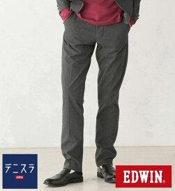 【エドウィン公式】デニスラ スリムテーパード 【大きいサイズ】 EDWIN