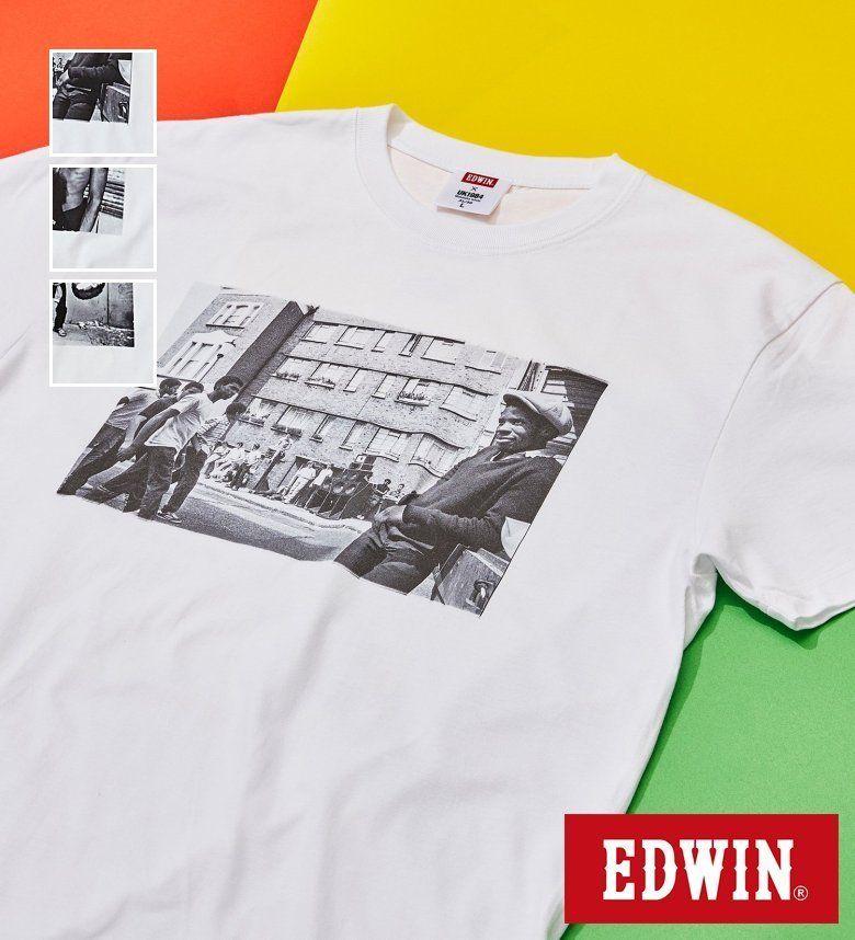 【公式EC限定】EDWIN × MASATAKA ISHIDA フォト Tシャツ エドウィン