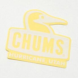 チャムス ステッカー ブービーフェイス CH62-1124 White CHUMS Sticker Booby Face ※おひとり様5点まで
