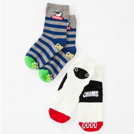 チャムス キッズソックスセット CH26-1003 B set キッズ CHUMS Kid's Socks Set