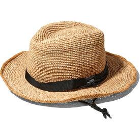 ノースフェイス ラフィアハット NN01554 (NB)ナチュラルベージュ THE NORTH FACE Raffia Hat