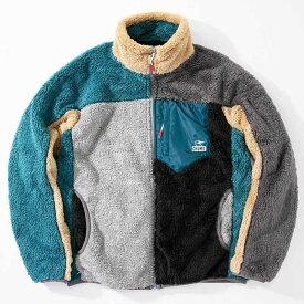 チャムス フリース ジャケット メンズ ボンディングフリースジャケット CH04-1242 Crazy 20F CHUMS Bonding Fleece Jacket