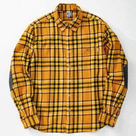 チャムス シャツ メンズ ネルシャツ CH02-1148 Yellow CHUMS Nel Shirts
