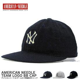 AMERICAN NEEDLE アメリカンニードル キャップ ニューヨークヤンキース 帽子
