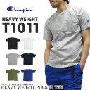 Champion チャンピオン Tシャツ T1011 ヘビーウェイト ポケット付き 半袖Tシャツ HEAVY WEIGHT JERSEY POCKET S/S T-S…