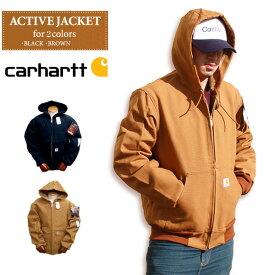 カーハート ジャケット Carhartt J131 アクティブジャケット ダック地 裏地 サーマル ACTIVE DUCK JACKET ストリート ジャケット Dickies ディッキーズ アウター