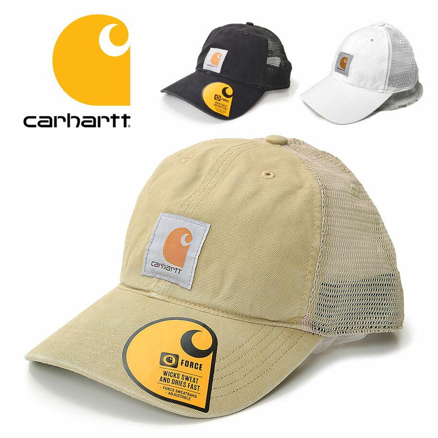 Carhartt カーハート メッシュキャップ 100286 バッファロー メッシュキャップ 帽子 BUFFALO MESH CAP 紫外線対策 日焼け対策 【10800円以上で送料無料・メール便不可・メンズ・レディース】【MA03】