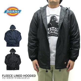 f68e333fa Dickies Dickies nylon jacket 33237 fleece liner nylon jacket windbreaker  coach jacket FLEECE LINED HOODED NYLON JACKET