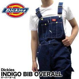 ディッキーズ Dickies オーバーオール デニム INDIGO BIB OVERALL 83294 作業着 仕事着 作業服 ユニフォーム 男性用 メンズ つなぎ