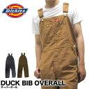 ディッキーズ Dickies オーバーオール ダック DUCK BIB OVERALL DB100 作業着 仕事着 作業服 ユニフォーム 男性用 メ…