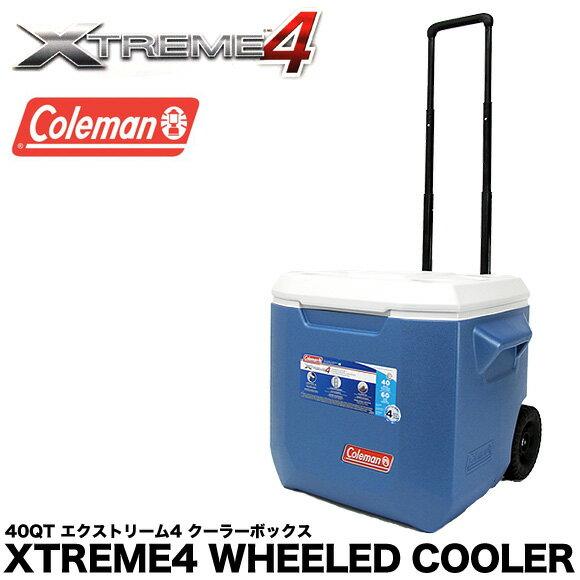 クーラーボックス コールマン エクストリーム 40QT 3000005170 3000002115 ホイールクーラー 37.9L COLEMAN XTREME WHEELED COOLER ハードクーラー