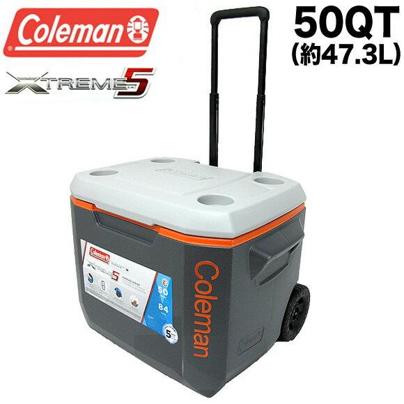 コールマン Coleman クーラーボックス エクストリーム 50QT 3000005157 3000002005 エクストリーム ホイールクーラー 47.3L Coleman XTREME WHEELED COOLER ハードクーラー