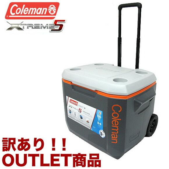 【訳あり】【アウトレット】コールマン Coleman クーラーボックス エクストリーム 50QT 3000002005 エクストリーム ホイールクーラー 47.3L Coleman XTREME WHEELED COOLER ハードクーラー 返品交換不可