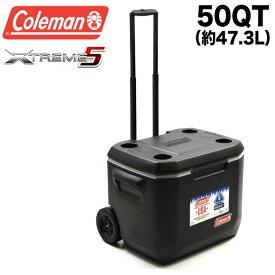 コールマン Coleman クーラーボックス エクストリーム 50QT 3000005145 3000002003 エクストリーム ホイールクーラー 47.3L Coleman XTREME WHEELED COOLER ハードクーラー