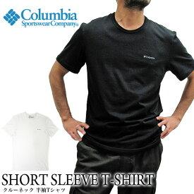 Columbia コロンビア 半袖Tシャツ クルーネック RM8C701 ショートスリーブ シャツ SHORT SLEEVE T-SHIRT CREWNECK
