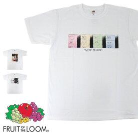 【メール便送料無料】FRUIT OF THE LOOM フルーツオブザルーム 0122-513FLPH フォトプリント 半袖 Tシャツ FLUIT S/S PHOTO TEE