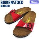【アウトレット】BIRKENSTOCK ビルケンシュトック サンダル マドリッド タンゴレッド ナロー メンズ MADRID TANGO RED…