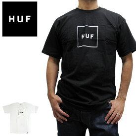 【メール便対応】ハフ Tシャツ HUFエッセンシャル ボックス ロゴ TS00507 半袖Tシャツ 定番モデル 正規品 USA