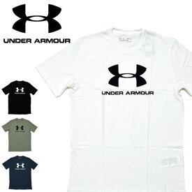 【メール便配送】アンダーアーマー Tシャツ UNDER ARMOUR 1329590 SPORTSSTYLE LOGO SS メンズ 半袖 スポーツスタイル ロゴ 大きいサイズ XL XXL 2XL メンズ