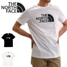 【メール便配送】ノースフェイス Tシャツ THE NORTH FACE ロゴT EASY TEE 半袖 大きいサイズ メンズ レディース ユニセックス NF0A2TX3