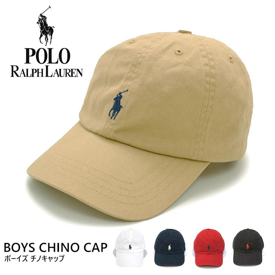 【父の日ラッピング無料】POLO Ralph Lauren ラルフローレン キャップ 帽子154561 552489 【ボーイズ】 チノキャップ BOYS CHINO CAP ローキャップ