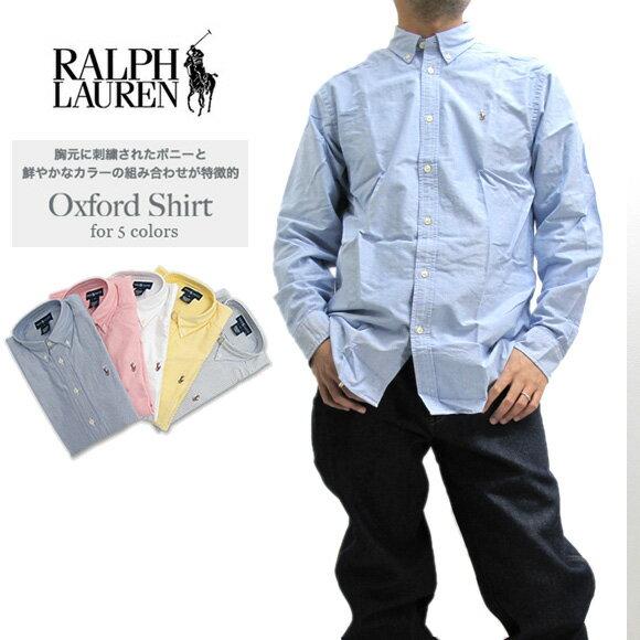 ラルフローレン シャツ POLO Ralph Lauren オックスフォード ボタンダウンシャツ 長袖 シャツ Boy's Oxford Shirt ボーイズサイズ