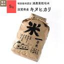 米 5kg キヌヒカリ 滋賀県産 特別栽培米 令和元年産お米 分つき米 玄米
