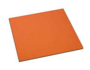 正角折敷 オレンジ (会席膳 板膳 お盆)001-2511