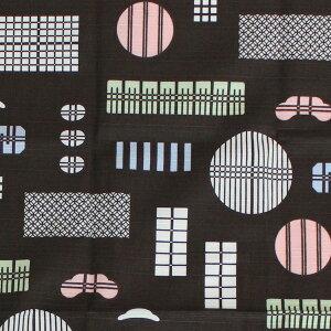 弁当箱用小風呂敷格子窓50cm綿100%日本製(弁当箱、お弁当、わっぱ、ふろしき、国産、おしゃれ)