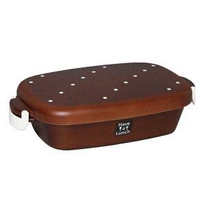 Have a Lunch カフェランチ ウッドブラウンドット 電子レンジ・食洗機対応(弁当箱 お弁当箱 ランチボックス 丼 どんぶり)001-3493 (宮本産業)