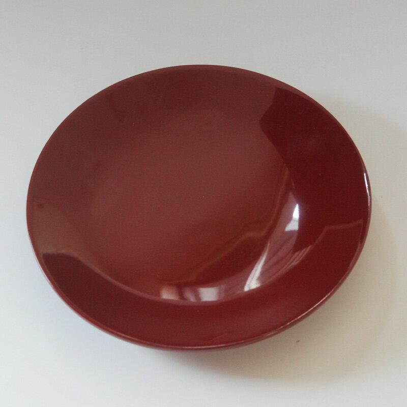 【売り切れ御免、訳ありセール】木製 朱 銘々皿(盛皿)