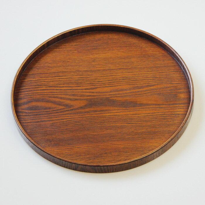 【売り切れ御免セール】木製 10.0丸盆 無地 (トレイ お盆 トレー )【楽ギフ_包装】
