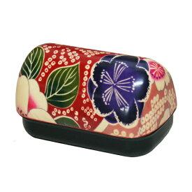 布貼 おにぎり弁当 桜ピンク(弁当箱 ランチボックス おにぎり 布貼 ギフト かわいい) 001-1729 (たつみや)