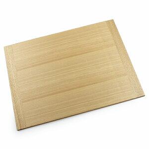 木製ランチョンマット ホワイトアッシュ 40cm(木製トレートレイ トレー 会席膳 板膳 お盆)