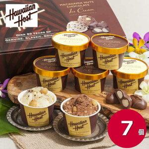 お歳暮 ギフト ハワイアンホースト マカデミアナッツチョコアイス  A-HH 7個 お礼 お返し 内祝い 出産祝い お祝