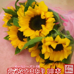 ★ひまわり 母の日 父の日★花★元気なひまわり花束 誕生日 記念日