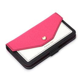 iPhone8 / iPhone7 / iPhone6s / iPhone6 手帳型ケース フリップカバー スクエア型 ポケット ピンク 手帳型 ブックタイプ ケース カバー iPhone 8 7 6s 6 アイフォン