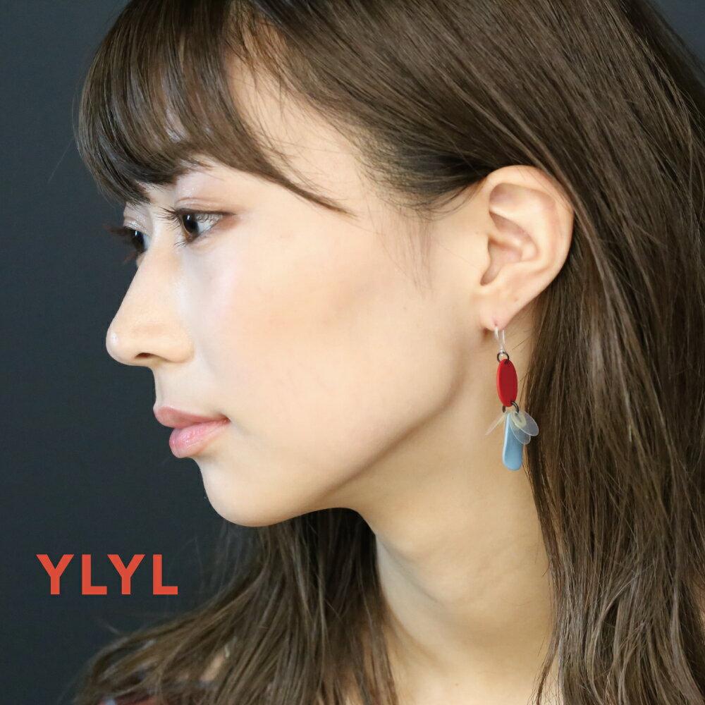 YLYL Castanet ピアス 金属アレルギー 樹脂フック 韓国ブランド yOungly yOungley 韓国 アクセサリー