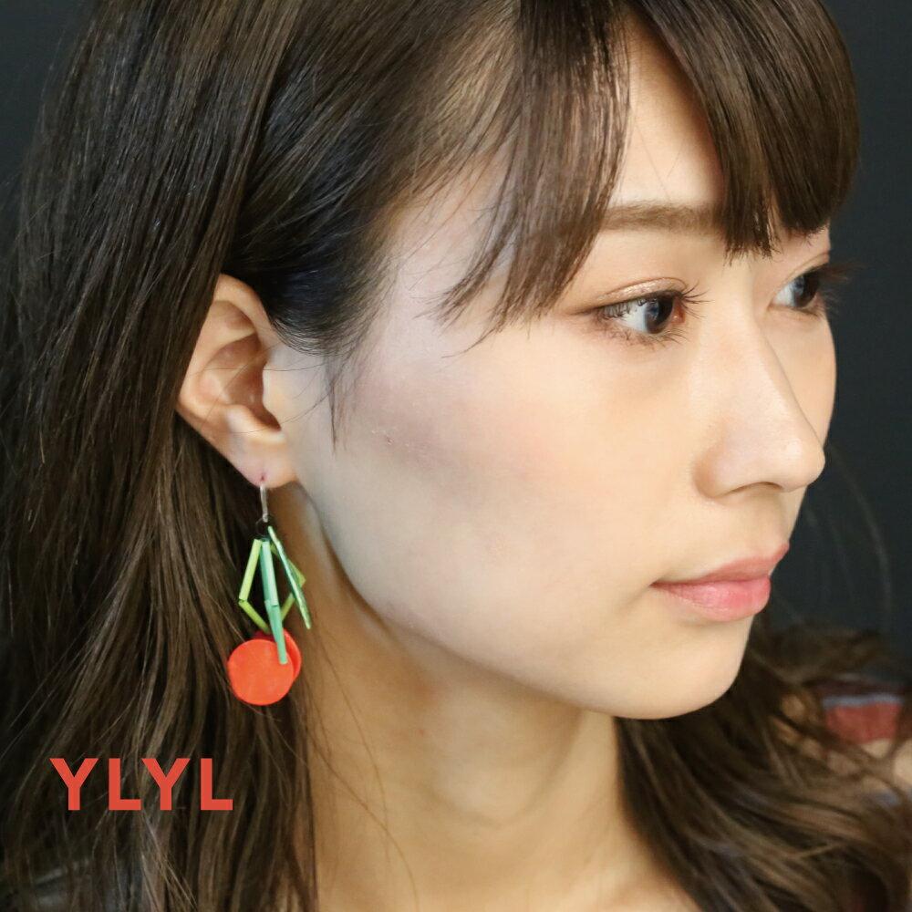 YLYL Salgoo ピアス 金属アレルギー 樹脂フック 韓国ブランド yOungly yOungley 韓国 アクセサリー