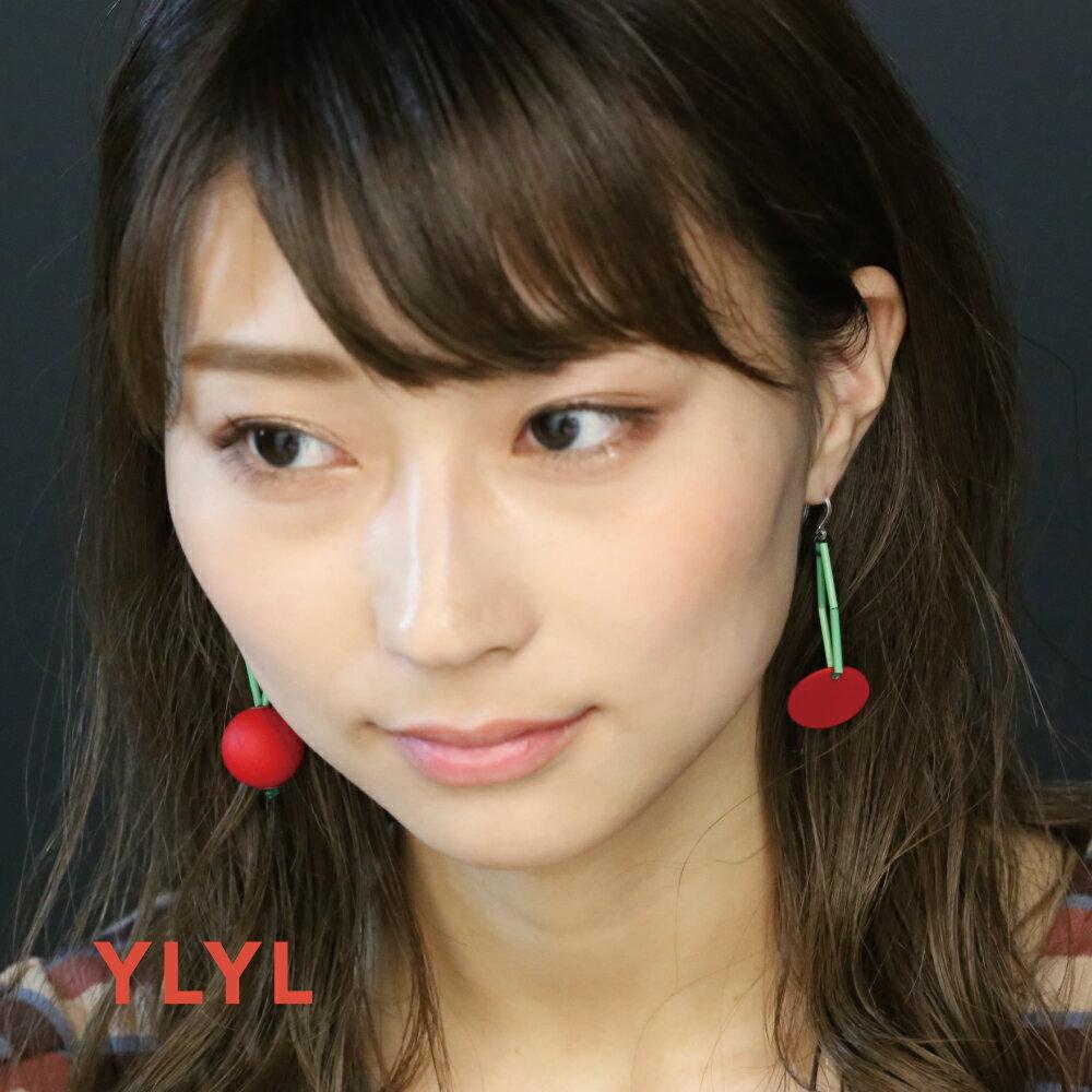 YLYL Maggy ピアス 金属アレルギー 樹脂フック 韓国ブランド yOungly yOungley 韓国 アクセサリー