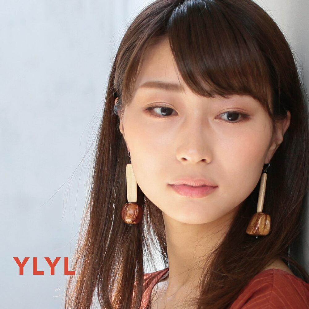 YLYL Hut ピアス 金属アレルギー 樹脂フック 韓国ブランド yOungly yOungley アクセサリー