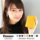Fennec Pocket Wallet フェネック レディース ミニ財布 3つ折り ブランド コインケース付き レザー 財布 韓国 韓国フ…